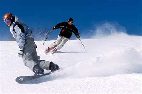 Sports Ski And Snowboard by Skiing Vs Snowboarding For Beginners Which Is Easier To