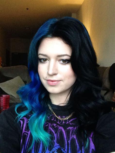blue  black mane hair styles hair