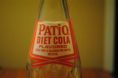 Patio Diet Cola Bottle by 1963 Patio Diet Cola Pepsi Co Bottle Collectors Weekly