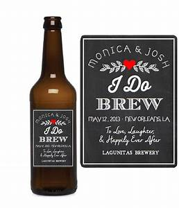 custom beer labels i do brew chalkboard wedding favors With custom beer bottle labels wedding