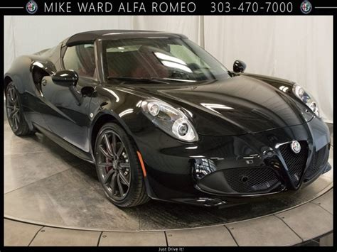 New Alfa Romeo Spider by New 2018 Alfa Romeo 4c Spider Convertible In Highlands