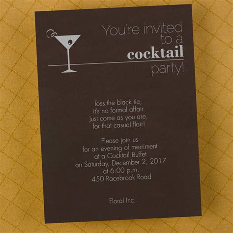 'your Invited To A Cocktail Party' Invitation Little