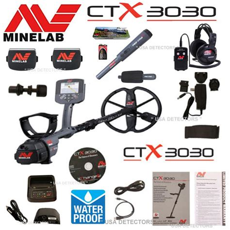 minelab ctx 3030 metal detector with pro find 25 pinpointer