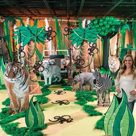 jungle theme parties ideas  pinterest party