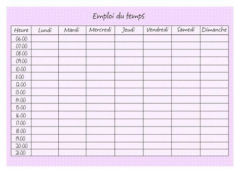 fourniture de bureau en anglais emploi du temps à imprimer pour l école calendrier