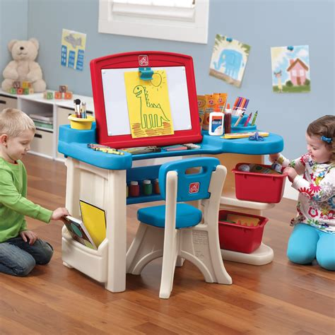 step 2 art desk studio art desk kids art desk step2