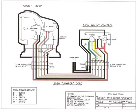 Go Light Wiring Diagram golight radioray gl 2020 remote spotlight