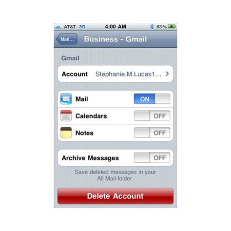 remove email account from iphone what to do when iphone won t send email