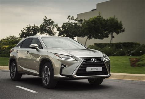 lexus latest suv radical rx arrives  sa wheels