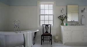 Corner Freestanding Bathtub Country Bathroom