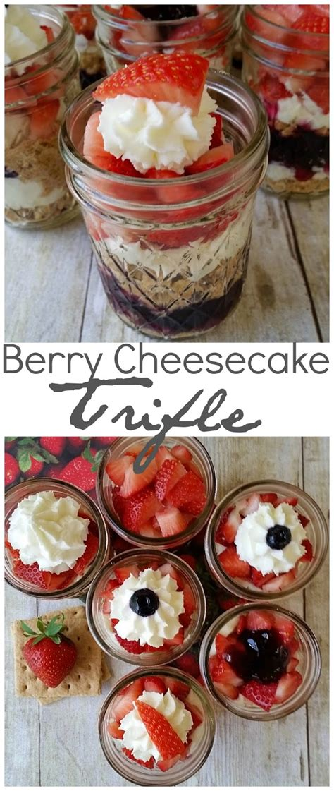 Three Ways To Create Trifle by Berry Cheesecake Trifle Three And A Fish