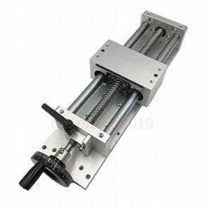 Cnc Manual Sliding Table Sfu1605 Stroke 200mm Linear