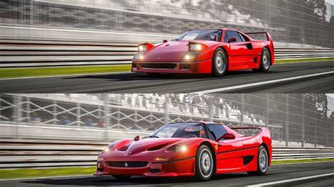 F50 Top Gear by F40 Vs F50 Top Gear Track Battle