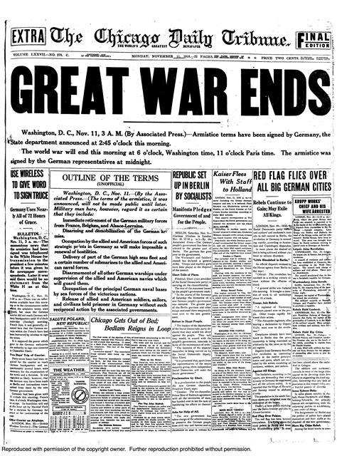 historical newspapers american history newspaper headlines world war one history
