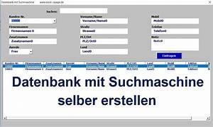 Excel Rechnung Mit Kundendatenbank : entwicklung von programmen in excel excel vba programmierung lager personal datenbank vokabel ~ Themetempest.com Abrechnung