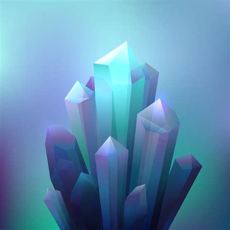 crystal minerals background   vectors