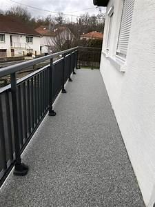 Peinture Balcon Sol : abcolor floorcolor r sin resine pour balcon peinture ~ Premium-room.com Idées de Décoration