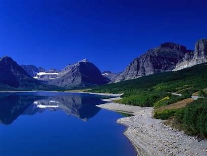 Lake Mountain Mountains Wallpapers Nature Sky Desktop