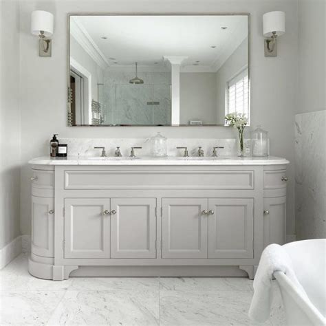 image result  double vanity unit traditional white