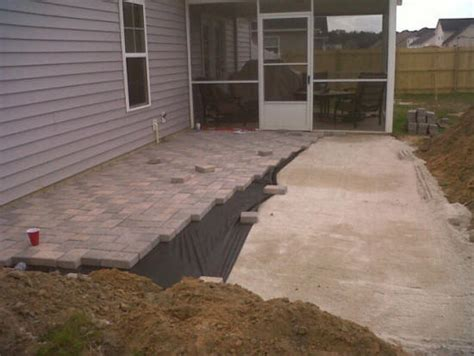 patios low cost paver patio