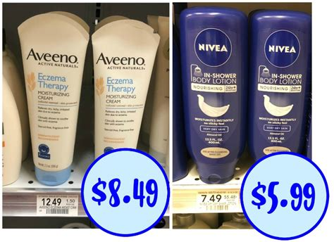 Shower For Eczema - new aveeno eczema therapy coupon for the publix sale plus