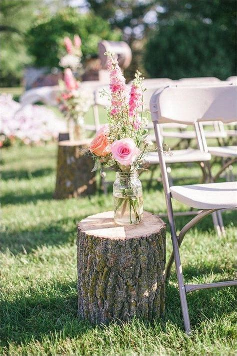 country rustic wedding decoration ideas  tree