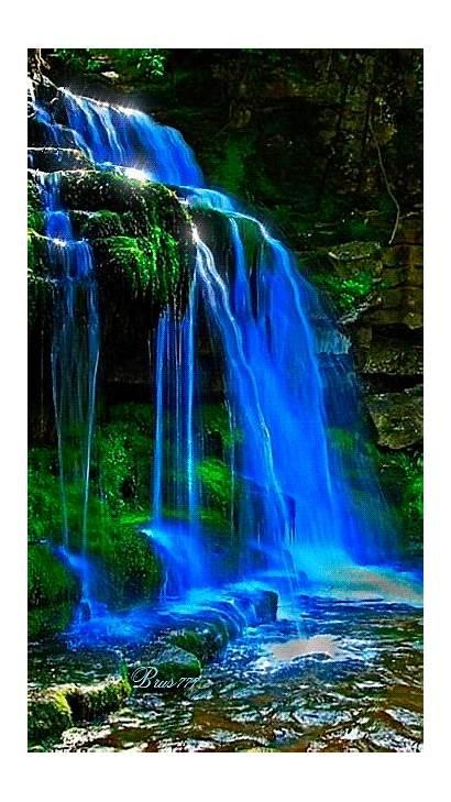 Moving Screensavers Nature Landscapes Waterfall Animated Waterfalls