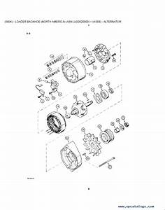 Case 580k Phase 3 Backhoe Loader Service  U0026 Parts Pdf