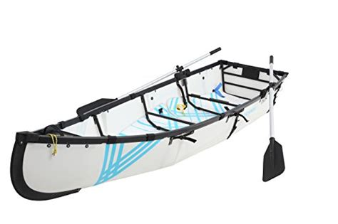 Folding A Boat by Mycanoe Lightweight Origami Collapsible Folding Portable