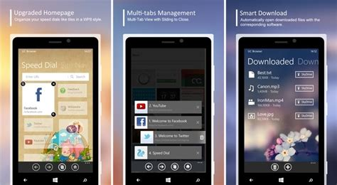 uc browser for windows phone 3 1 1 400