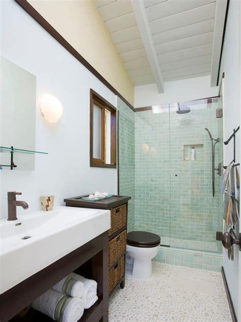 new bathroom three quarter bathroom hgtv