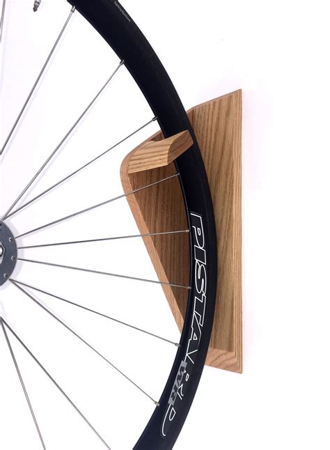 A Simple Yet Elegant Way To Store Your Bike Vertically
