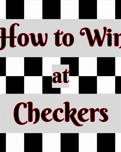 Strategy Tactics Checkers Win Opening Chess Games
