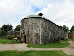 Canada Iroquois Longhouse Picture