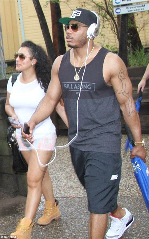 lupe fiasco bikini miss jackson tries to convince her beau nelly to let her