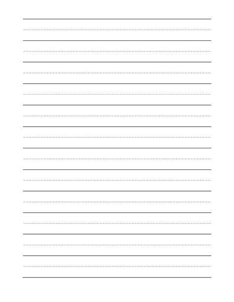handwriting sheets for grade blank handwriting