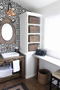 Modern, Farmhouse, Bathroom, Remodel, Reveal