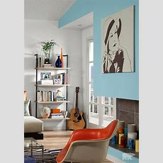 Behr Paints In Clear Vista Blue And White Are Sure To Keep