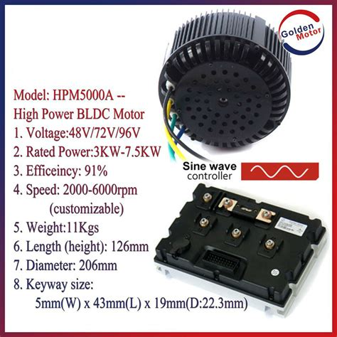 china 1 5kw 3kw 5kw 10kw 20kw bldc brushless electric motor for car motorcyle and boat china
