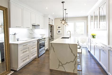 modern white kitchens packed  personality