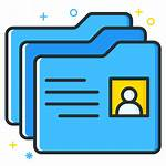 Icon Folder Employee Job Directory Archive Seeker