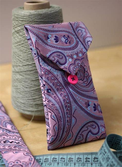 idees recup de vieilles cravates bricolage maison