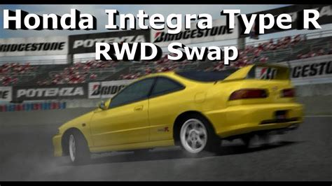 Forza 4 Honda Integra Type R Fwd To Rwd Swap Drift Build