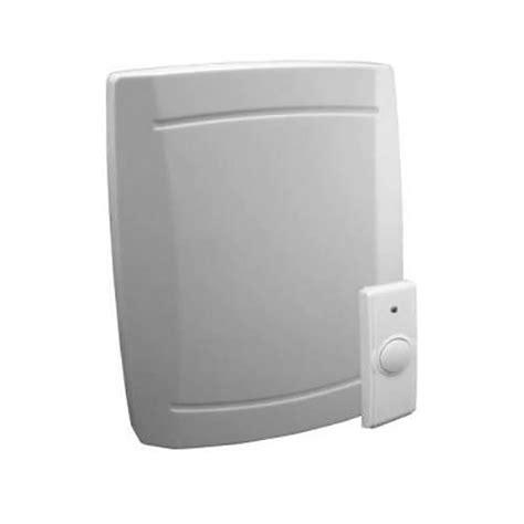 wireless door bells iq america wireless battery operated door chime kit 245823