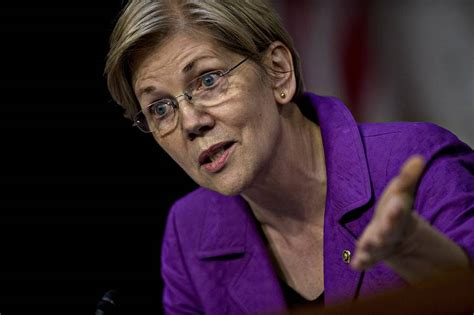 goofy elizabeth warren resumes attacks on weak