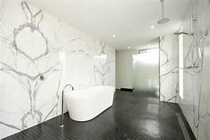 Carrelage metro noir leroy merlin carrelage cuisine noir for Salle de bain design avec boites à archives décoratives