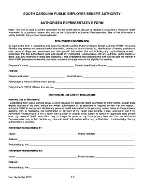 form cms 10106 sc authorized representative form fill online printable
