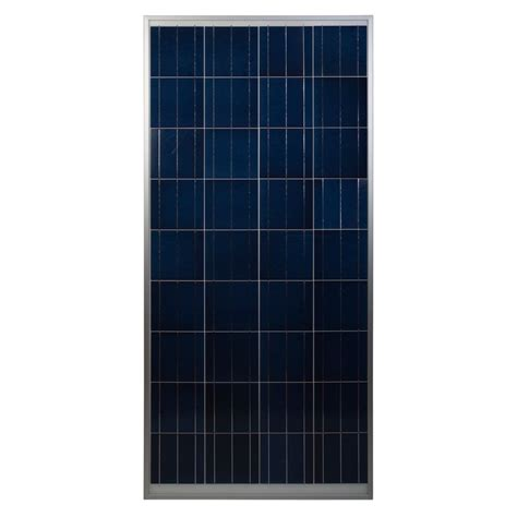 coleman 150 watt 12 volt crystalline solar panel the home depot canada