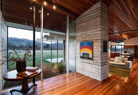 concrete house interiorzine