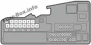 Fuse Box Diagram Lexus Es 250   Es 350   Es 350h  Xv60 2012